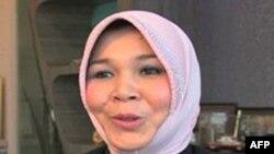 Phó thị trưởng tỉnh Banda Aceh, bà Illiza Sa'aduddin Djamal