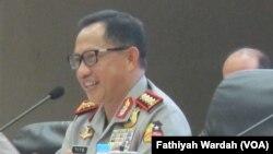 Kepala Kepolisian Republik Indonesia Jenderal Tito Karnavian. (VOA/Fathiyah Wardah)