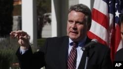 美国新泽西州联邦众议员克里斯•史密斯