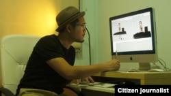 Ronny Gani, Animator di Industrial Light & Magic, di Singapura (courtesy photo).