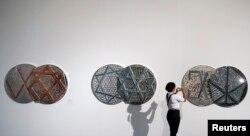 کاری از خانم فرمانفرمائیان در نمایشگاه سائوپلوی برزیل در سال ۲۰۱۰