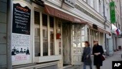 """Ruski restoran """"Dolma"""" za sankcije Rusiji krivi američkog predsednika Obamu, kome """"zabranjuje ulaz u restoran""""."""