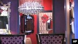 A look inside Phyllis Morris design showroom in Los Angeles, California.