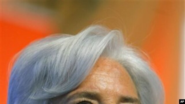 France's Finance and Economy Minister Christine Lagarde, May 24, 2011