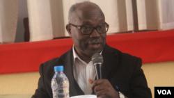 Lucas Ngonda, líder FNLA, Angola