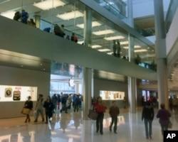 香港中环苹果旗舰店,苹果iPad在香港销售不受商标权争执影响