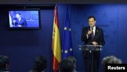 El jefe del gobierno de España, Mariano Rajoy, salió satisfecho de la reunión, según él, por el ánimo de avanzar en buenos acuerdos.