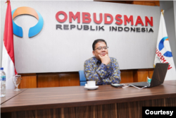 Anggota Ombudsman RI Adrianus Meliala saat menggelar konferensi pers di Jakarta pada Kamis, 17 Desember 2020. (Foto: Ombudsman)