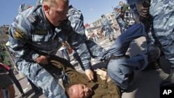Задержания у Госдумы. 5 июня 2012г.