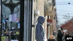 Một con đường trong quận hạt Camden, bang New Jersey, một quận hạt có tỉ lệ nghèo khó cao nhất nước, và nằm trong số những quận hạt có tỉ lệ thất nghiệp, học sinh bỏ học và người vô gia cư cao