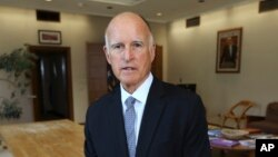 Gubernur California, Jerry Brown (Foto: dok).