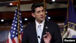 Le républicain Paul Ryan (R-WI) à Washington, 20 octobre 2015. (REUTERS/Yuri Gripas)
