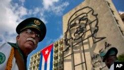 Kuba poytxti Gavanadagi Che Gevara tasviri tushirilgan Inqilob maydoni.