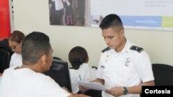 El Servicio Nacional de Migración de Panamá anunció la creación de la Oficina de Asuntos Humanitarios para los Residentes Venezolanos. Foto: Twitter de Migración Panamá.