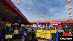 Các cuộc tuần hành của những người Việt ủng hộ Biden thường gặp phản ứng dữ dội từ những người ủng hộ ông Trump