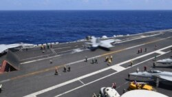 VOA: EE.UU. USS Roosevelt pide cuarentena para marineros