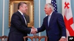 Рекс Тиллерсон и Георгий Квирикашвили