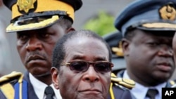 Umongameli Robert Mugabe (file photo)