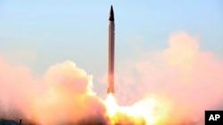 """سپاه پاسداران ایران گفته است که برنامۀ راکت های آنکشور """"در هرگونه شرایط"""" هیچگاه توقف نه خواهد یافت"""