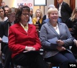 Maureen Cormack, ambasadorica SAD-a u BiH, i Christiane Hohmnn, ambasadorica Njemačke u BiH