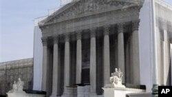 지난 27일 미국 워싱턴 연방대법원. (자료 사진)