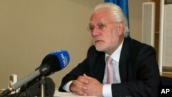 Aldo Dell 'Ariccia, European Union ambassador to Zimbabwe. (File Photo/AP)