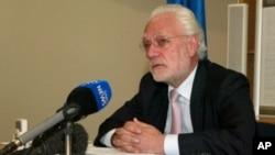 Aldo Dell 'Ariccia, European Union ambassador to Zimbabwe. (File Photo/AP)