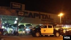 Capital Hypermarket ေစ်း၀ယ္စင္တာ ေပါက္ကြဲမႈျဖစ္