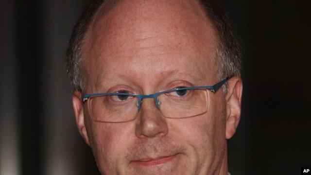 BBC Director General George Entwistle, Nov. 10, 2012.