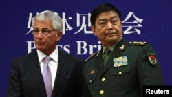 Hagel In China