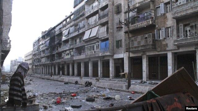 Sirijski grad Alepo, najveći ekonomski centar Sirije, pretrpeo je katastrofalna razaranja u tekućem ratu