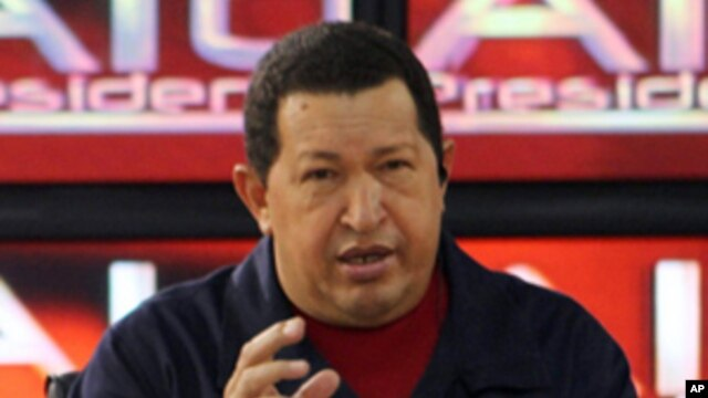 President Hugo Chávez (August 2010)