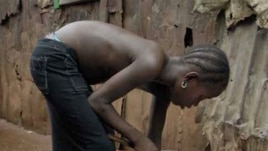 African children often face lack of clean water and sanitation in urban areas. (Credit: Save the Children)