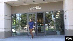 Mahasiswa UI, Farishki Vidyan magang selama tiga bulan di perusahaan teknologi Mozilla di Silicon Valley, CA (VOA/Vina).
