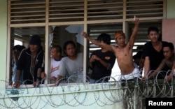 """Banyak lapas di Indonesia yang sudah mengalami kelebihan penghuni atau """"overcrowded"""" (foto: ilustrasi)."""
