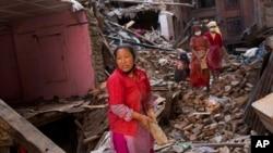 尼泊爾強烈地震發生後,大約30萬幢房屋被地震破壞或損毀。