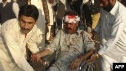 Một nạn nhân của các vụ bạo động ở Pakistan