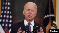 Biden delivers remarks on the Department of Labor's March jobs report
