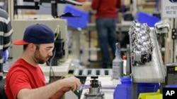 La economía estadounidense disminuyó en el primer trimestre del año.