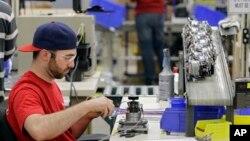 Sebuah fasilitas manufaktur di Ohio. (Foto: Dok)