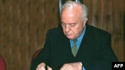 Эдуард Шеварднадзе. Архивное фото.