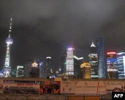 上海市高楼林立