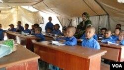 هنوز هم شماری مکاتب در افغانستان تعمیر ندارد