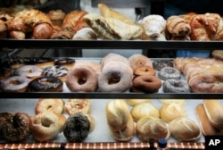 Some baked goods such as donuts and bagels are cheaper if you buy them by the dozen.
