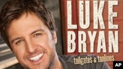 Luke Bryan ocupa el primer lugar de popularidad en la cartelera country.