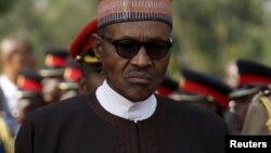 Shugaba Muhammad Buhari na Najeriya
