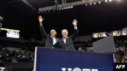 Američki predsednik i potpredsednik u predizbornoj kampanji pre 2 godine, već počinju da se pripremaju za novu izbornu trku 2012.