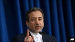 Thứ trưởng Ngoại giao Iran Abbas Araghchi, trưởng đoàn thương thuyết hạt nhân của Iran.