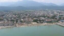 نشت نفت در آبهای ساحلی مازندران