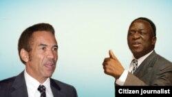 Emmerson Mnangagwa lo Ian Khama